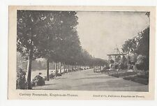 Canbury Promenade, Kingston on Thames Jewell & Co. Postcard, A772