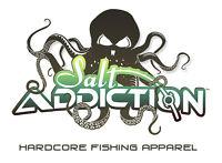 Salt Addiction Fishing t shirt,Saltwater shirt,Ocean,Fish,turtle,reel,life,rod