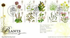 GB 2009 FDC Action for Species 3rd series flowers,  bureau edinburgh Stamps