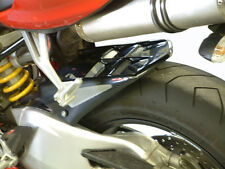 Ducati 1098 Rear Hugger Carbon Look Silver Mesh - Powerbronze