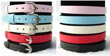 50pcs Mixed Color 8*210mm PU Leather Bracelet Wristband Fit DIY Slide Charms