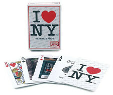 Bicycle I Love NY Playing Cards New York City America Tourist Souvenir Deck