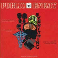 Everything B/W I Shall Not Be Moved Limited Edition 7 Inch [Single] by Public Enemy (Vinyl, Jul-2013, Eastlink)