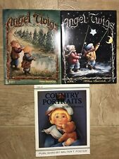 Helan Barrick Tole Decorative Painting Books Mixed lot of 3. Angel Twigs