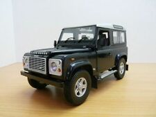 LAND ROVER DEFENDER 90 bleu Baltic 1/18 RHD 4x4