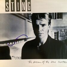 """Sting Signed LP Record """"The Dream of the Blue Turtles"""" - The Police"""