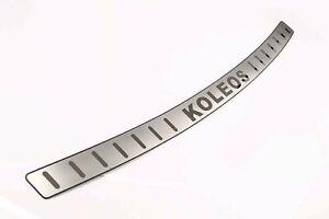 For Renault Koleos Accessories Car Door Sill Scuff Plate Rear Bumper Protector
