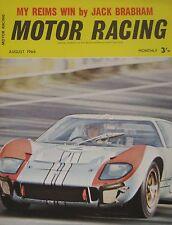 Motor Racing Magazine 08/1966 Vol.13, No.8