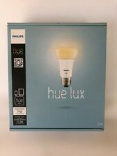 Philips Hue Lux A19 Starter Kit w/ 2 Bulbs and 1 hub - NIB