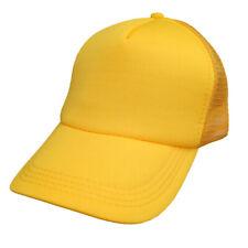 Gorra De Camionero Malla Gorra De Béisbol Mujer Hombre Ajustable Sombrero Visera curvada Transpirable