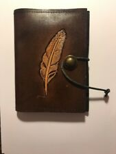 Notebook Journal Handmade Vintage Leather Travel Diary Notepad Brown Gift