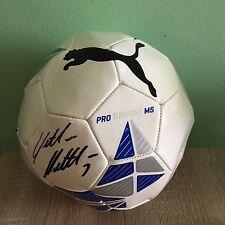 Puma Pro Training MS Ball - Original Signierter Fußball Lothar Matthäus Rarität