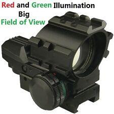 FSI Big Field of View Tri-Rail Reflex Red and Green Dot Sight,4 Reticles Dia35mm