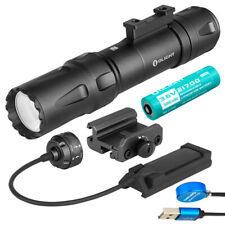 Olight Odin 2000 Lumen - Rechargeable Quick Release Rail Mount Flashlight