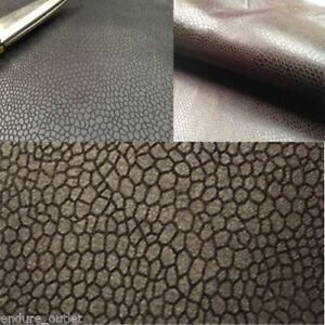 Faux Leather / Leathertte / Faux Suede / Snake Upholstery Fabric Material