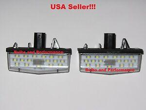 White 6000K LED License Plate Lamps for 2005 2006 2007 2008 2009 2010 Scion tC
