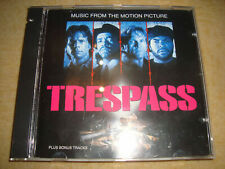 TRESPASS Soundtrack ICE CUBE ICE-T PUBLIC ENEMY SIR MIX A LOT BLACK SHEEP AMG WC