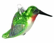Old World Christmas 16055 Glass Blown Hummingbird Ornament