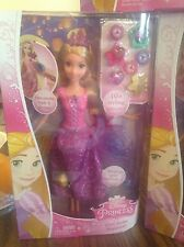 Disney Princess Gem Styler Rapunzel Doll Lot of 3