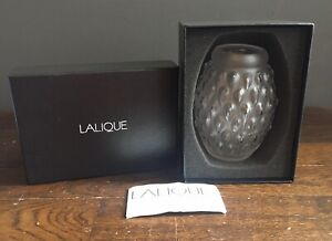 Beautiful Crystal Glass Lalique Figuera Vase Brand New Boxed