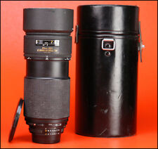 Nikon AF Nikkor ED 80-200mm F2.8 AF Telephoto Zoom Lens with F/R Lens Cap & Hood