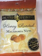 Island Princess Honey Roasted Macadamia Nuts 2.5 oz (4pack)