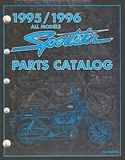 1995-1996 Harley Sportster XL1200 XL883 Parts Catalog Manual Book NEW 99451-96A