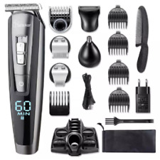 All in one wet dry hair beard grooming trimmer