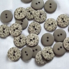 Acrylic Crafts Round Sewing Buttons