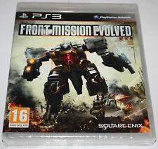 Front Mission Evolved jeu playstation 3
