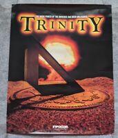 Trinity Poster Infocom rare vintage computer text adventure game merchandise