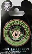 Disney Pin Trading Night Mickey Mouse Safari Spinner Pin