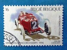 # BELGIO BELGIE - 1996 - SPA-FRANCORCHAMPS ALFA ROMEO P2 (1925) Car Used Stamp