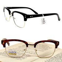 "READING GLASSES Men RETRO METAL READERS  moXie NWT ""Corporate"" Aspheric Lens"