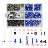 Blue Fairing Bolts Screws Kit For Yamaha YZF R6 R1 R25 R125 R3 T-MAX MT XJR