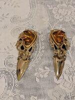 Vintage Edgar Berebi Clip-On Earrings