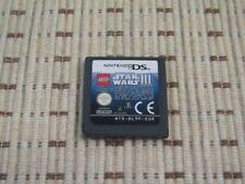 Lego Star Wars III the Clone Wars pour nintendo DS, DS Lite, DSi XL, 3 ds sans neuf dans sa boîte