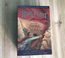 Harry Potter Chamber of Secrets JK Rowling, Audiobook 6 Cassettes NEW Sealed