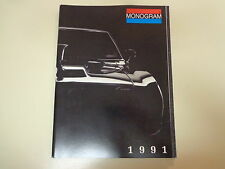 Monogram Model Kit Catalog 1991 Illustrated Nascar Pro Street Show Cars