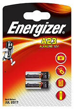 2x Energizer A23 12V Battery 8LR23, 8LR932, CA20, K23A, L1028, MN21, 23A