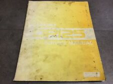 Genuine Suzuki DR125 Service Manual 99500-41000-01E