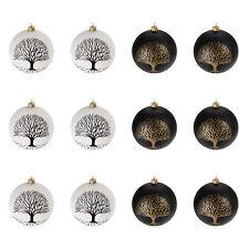 Schwarz Weiße Christbaumkugeln.Christbaumkugeln Schwarz Weiß Günstig Kaufen Ebay