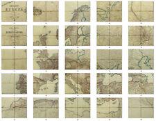 Joseph von Scheda - 1877 General Karte EUROPA in 26 Fogli, Completa Monumentale!