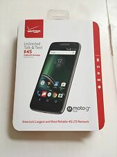 New Verizon Wireless Prepaid - Moto G4 Play 4G LTE with 16GB Memory SmartPhone