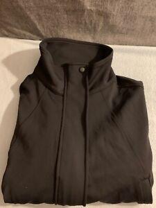 Athleta Womens Venus Bomber Jacket Black Size S NEW
