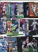 Sean Dawkins 18 card lot California Golden Bears / Seattle Seahawks