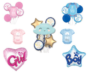 Baby shower PARTY foil balloons! It`s a Girl Boy 1st  Birthday Party ANAGRAM!