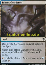 2x Tristes Gewässer (Dismal Backwater) Khans of Tarkir Magic