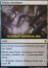 2x Tristes Gewässer (Dismal Backwater) Khans of Tarkir Magic
