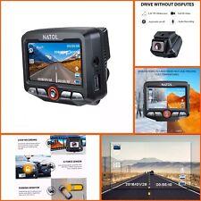 NATOL Dash Cam Full HD 1080p with Super Night Vision, Car Hidden Dashboard Cam